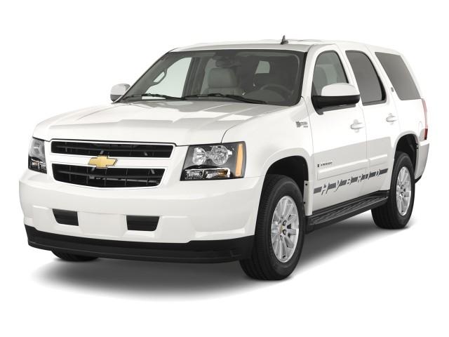 2010 Chevrolet Tahoe Hybrid 2WD 4-door Angular Front Exterior View
