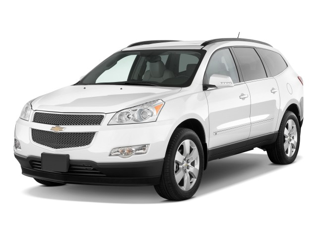 2010 Chevrolet Traverse FWD 4-door LTZ Angular Front Exterior View