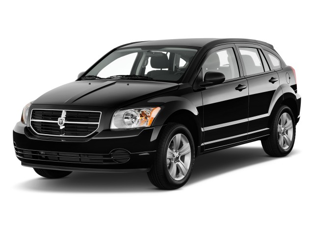 2010 Dodge Caliber 4-door HB Mainstreet Angular Front Exterior View
