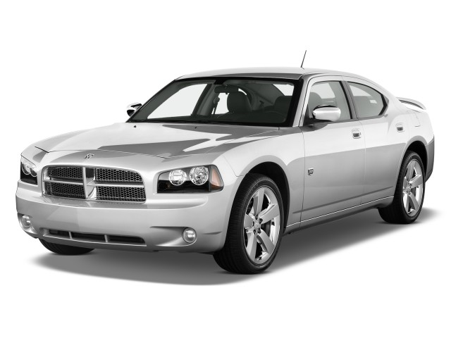 2010 Dodge Charger 4-door Sedan SXT RWD Angular Front Exterior View