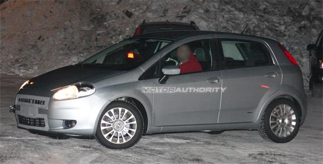 Spy shots: Fiat Grande Punto facelift