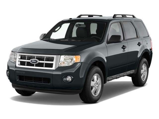 2010 Ford Escape Fwd 4 Door Xlt Angular Front Exterior View