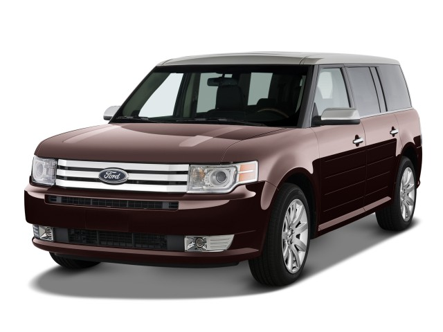 2010 Ford Flex 4-door Limited FWD Angular Front Exterior View