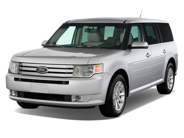 Angular Front Exterior View - 2010 Ford Flex 4-door SEL FWD