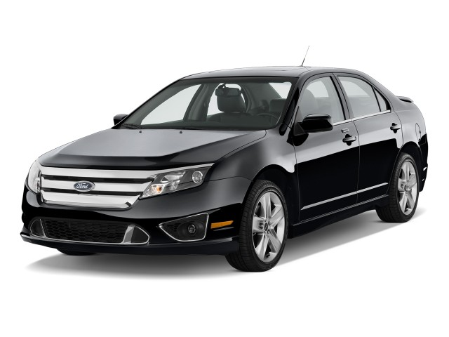 2010 Ford Fusion 4-door Sedan SPORT FWD Angular Front Exterior View