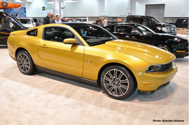 2010 Ford Mustang at the 2009 Denver Auto Show