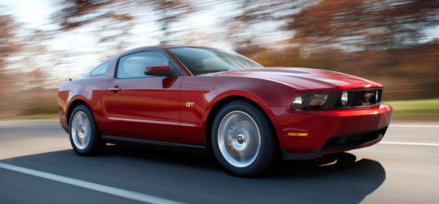 For 2010 Ford has given its Mustang a sleek new appearance and uprated engine range