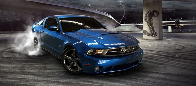 Build Your Own Mustang >> Build Your Own 2010 Ford Mustang With Online Customizer