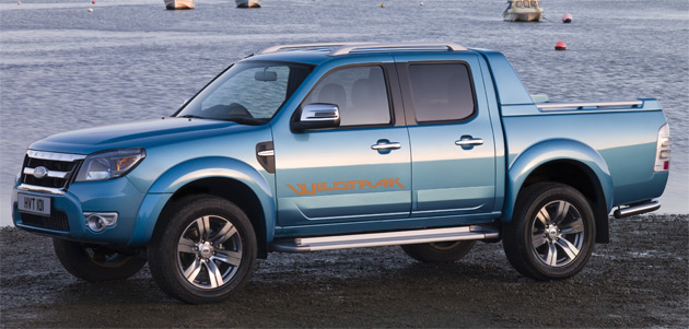 The new Ranger will go on sale in Europe this April and could be on sale in the U.S. by 2011