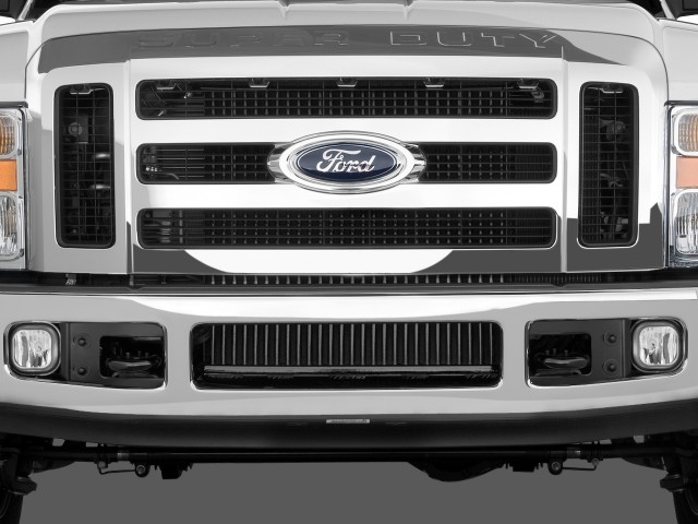 Grille - 2010 Ford Super Duty F-450 4WD Crew Cab Lariat