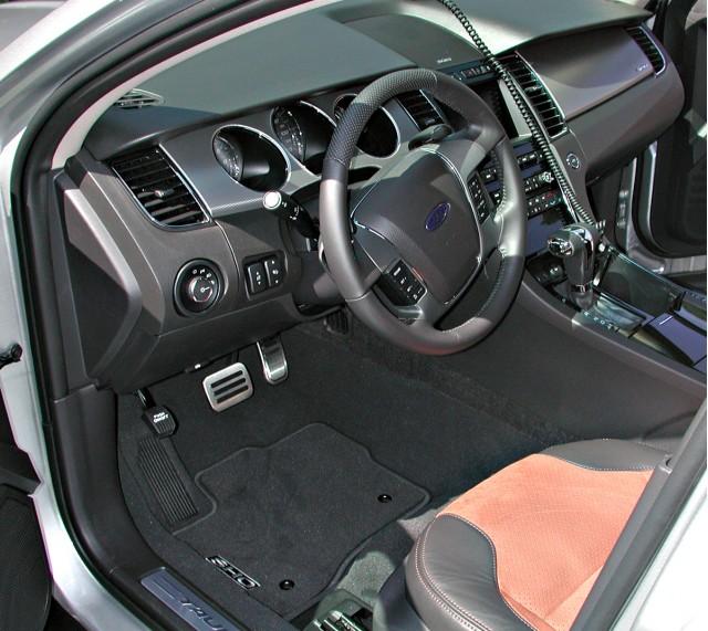 2010 Ford Taurus SHO interior