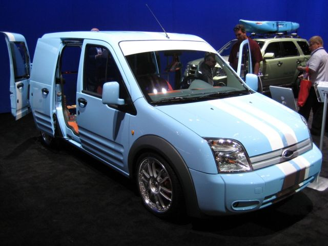 SEMA: Where Even the 2010 Ford Transit Connect Can Cool Down