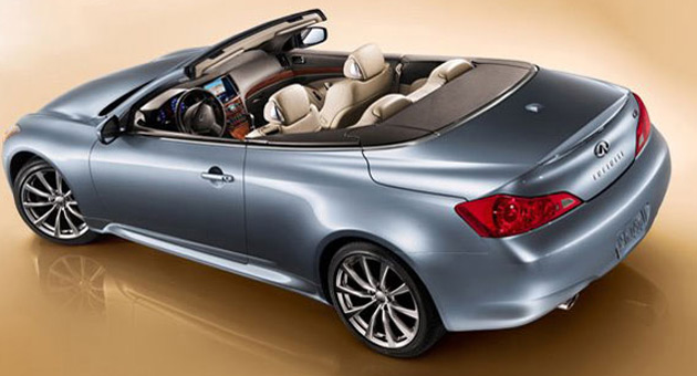 Infiniti releases third teaser for g37 convertible infiniti confirms 2009 sales launch for g37 convertible in both north america and europe sciox Images