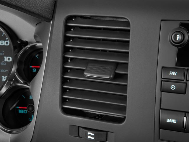 """Air Vents - 2010 GMC Sierra 2500HD 2WD Ext Cab 143.5"""" SLE"""
