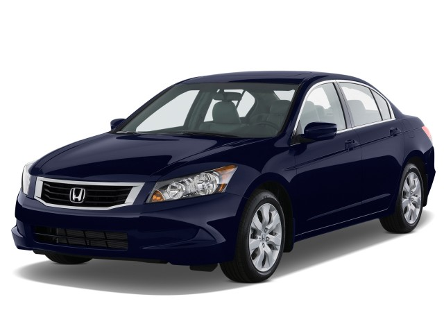 Angular Front Exterior View - 2010 Honda Accord Sedan 4-door I4 Auto EX-L