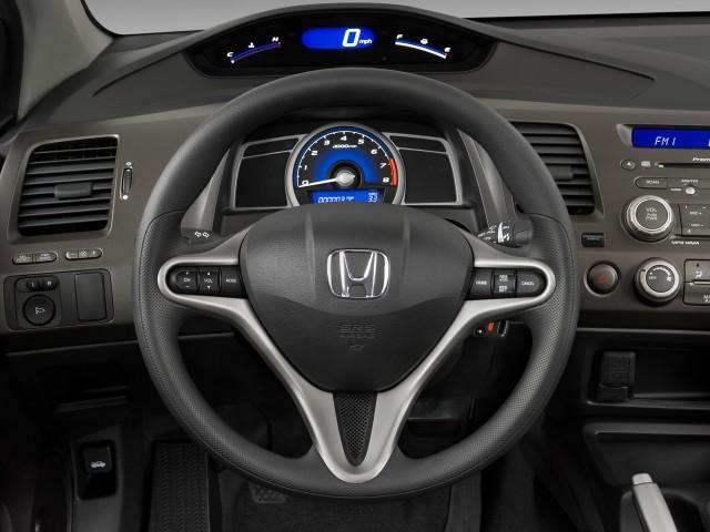 Steering Wheel - 2010 Honda Civic Coupe 2-door Man EX