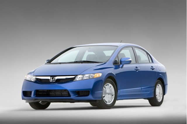 Best Used Green Cars To Buy 2006 2011 Honda Civic Hybrid