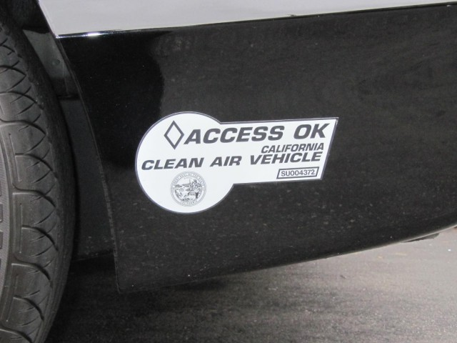 2010 Honda Civic GX natural-gas vehicle, Los Angeles, November 2010