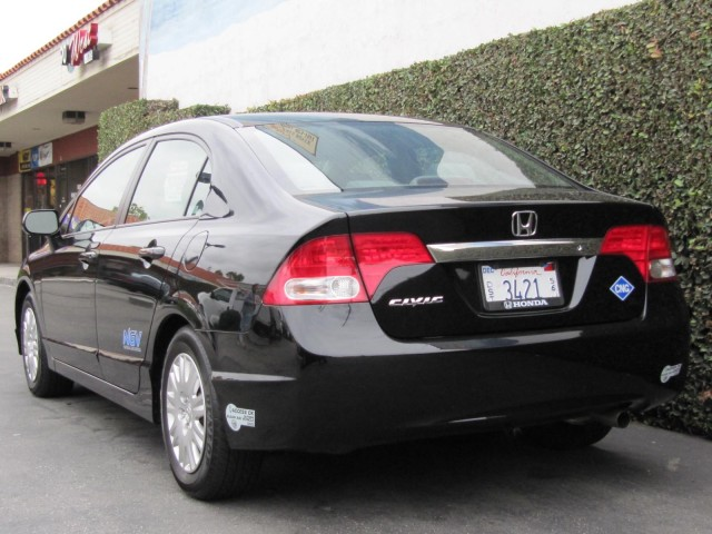2010 Honda Civic Gx Natural Gas Vehicle Los Angeles November