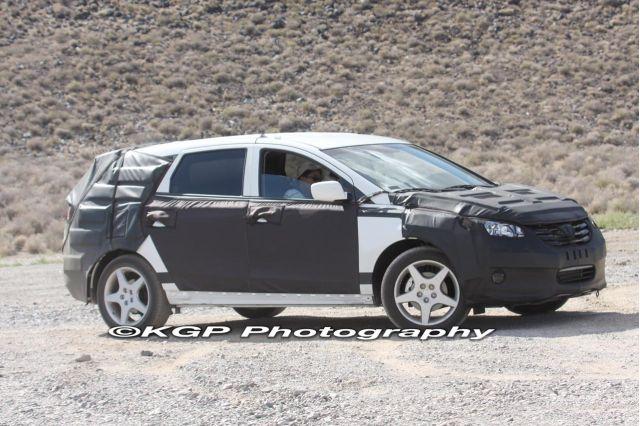 Spy Shots 2010 Hyundai Portico