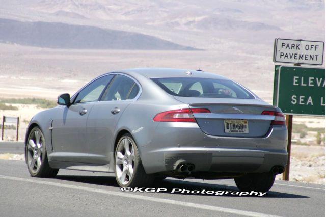 2010 Jaguar XFR Spy Shots