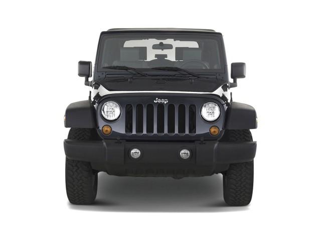 2010 Jeep Wrangler 4WD 2-door Rubicon Front Exterior View