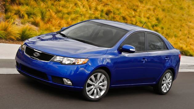 The Kia Forte will be available with either a 156hp 2.0L four-cylinder petrol engine or a 173hp 2.4L unit