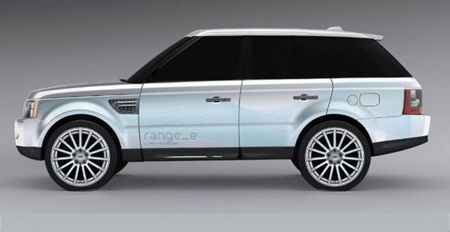 2010 Land Rover Range_e Hybrid Concept
