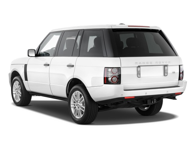2010 Land Rover Range Rover 4WD 4-door HSE Angular Rear Exterior View