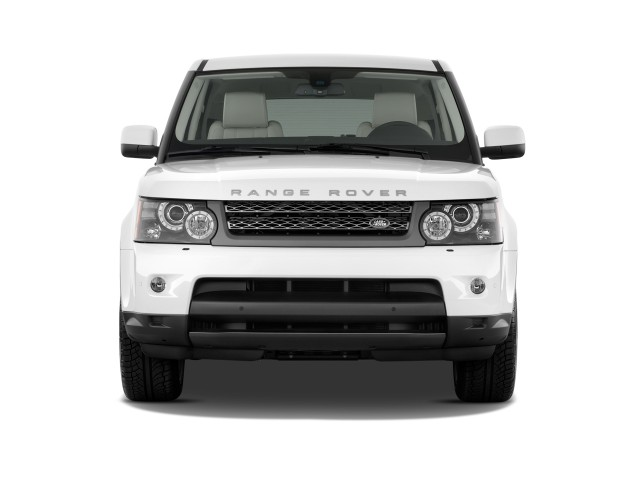 2010 Land Rover Range Rover Sport 4WD 4-door HSE Front Exterior View
