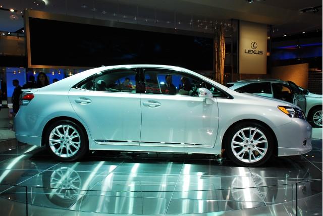 2010 Lexus Hs 250h Hybrid Sedan Live 09