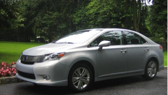 2010 Lexus Hs250h Front Side