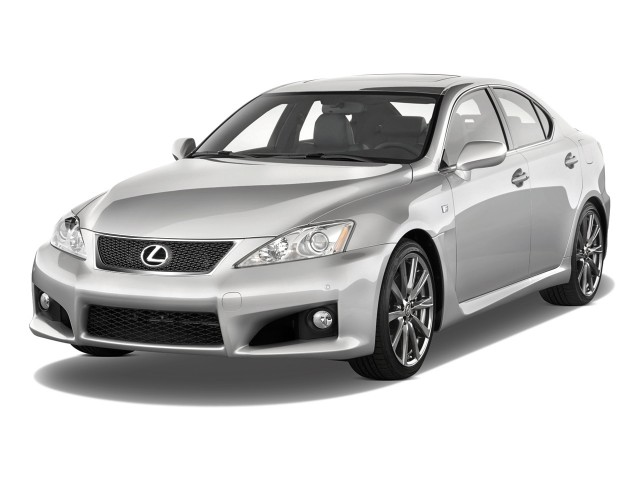 2010 Lexus IS F 4-door Sedan Angular Front Exterior View