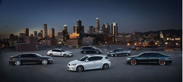 Lexus and Toyota 2010 SEMA vehicles