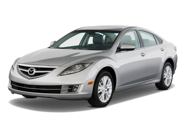 2010 Mazda MAZDA6 4-door Sedan Auto i Grand Touring Angular Front Exterior View