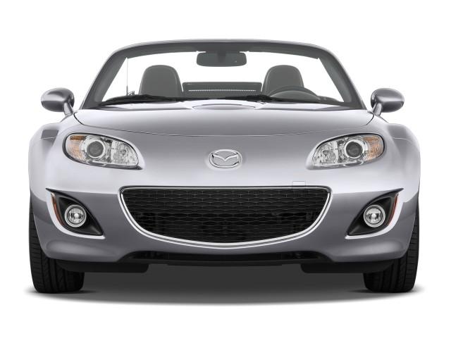 Front Exterior View - 2010 Mazda MX-5 Miata 2-door Convertible PRHT Man Grand Touring