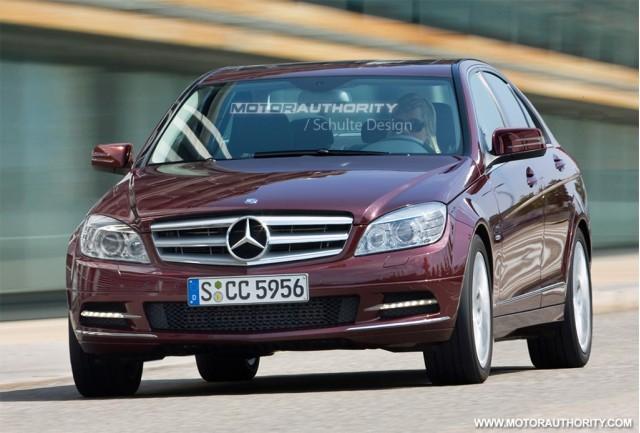 2010 Mercedes Benz C Class Facelift Rendering
