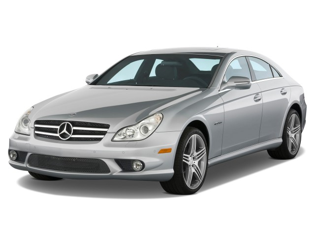 2010 Mercedes Benz CLS Class 4 Door Sedan 63L AMG Angular Front Exterior Reviews Specs Photos Inventory
