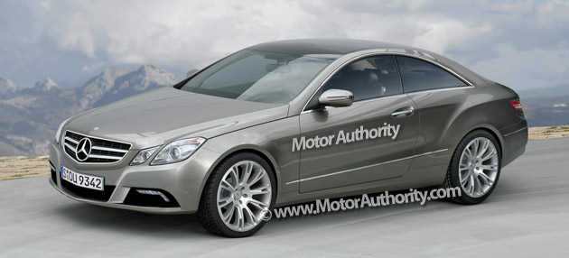 mercedes benz confirms mid 2009 launch for e class coupe. Black Bedroom Furniture Sets. Home Design Ideas