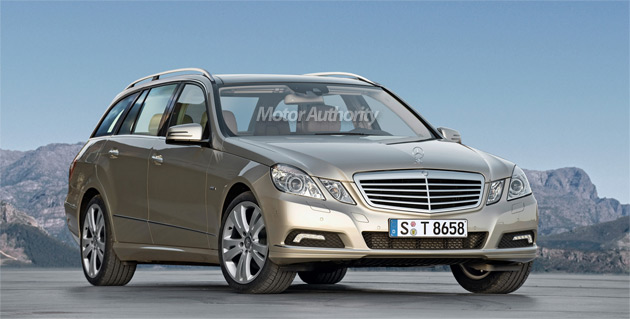 New E-Class Estate is expected to make its debut at the Frankfurt Motor Show in September