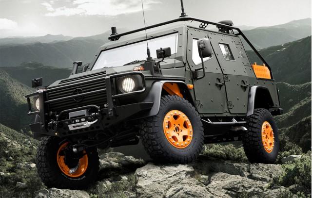 2010 Mercedes-Benz G-Wagon LAPV 6.X Concept