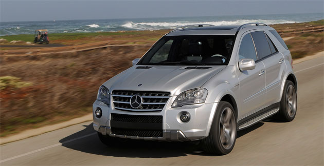 first details on next gen mercedes benz ml class suv. Black Bedroom Furniture Sets. Home Design Ideas