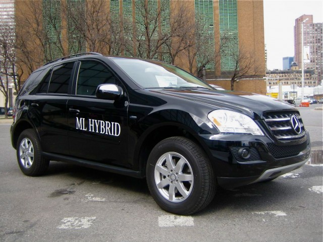 2010 Mercedes Benz Ml450 Hybrid