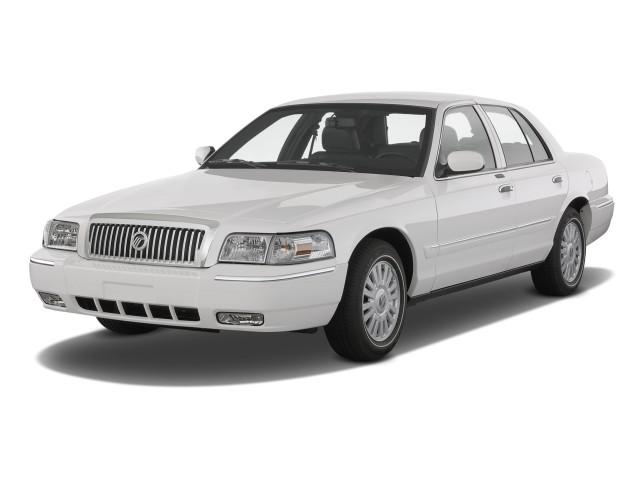 2010 Mercury Grand Marquis 4-door Sedan LS Angular Front Exterior View