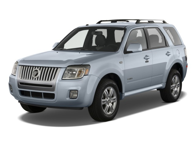 2010 Mercury Mariner 4WD 4-door Premier Angular Front Exterior View