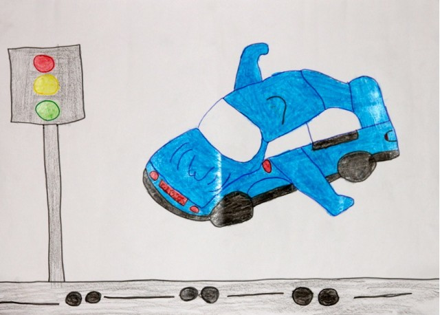 2010 Michelin Challenge Bibendum Children's Drawing Contest