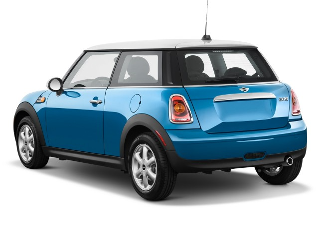 Angular Rear Exterior View - 2010 MINI Cooper Hardtop 2-door Coupe