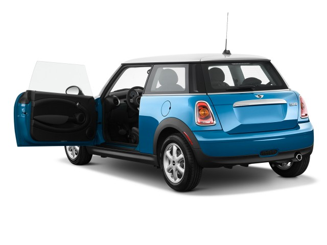 2010 MINI Cooper Hardtop 2-door Coupe Open Doors