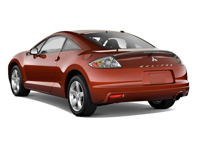 Angular Rear Exterior View - 2010 Mitsubishi Eclipse 3dr Coupe Auto GS
