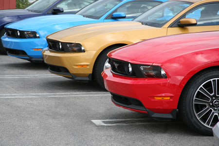 2010 Ford Mustang Colors With Photos
